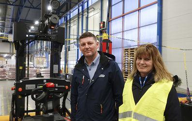 Za úspěchem projektu ve společnosti Coop stojí podpora Rogera Tømmervolda a Hege Sandangerové.
